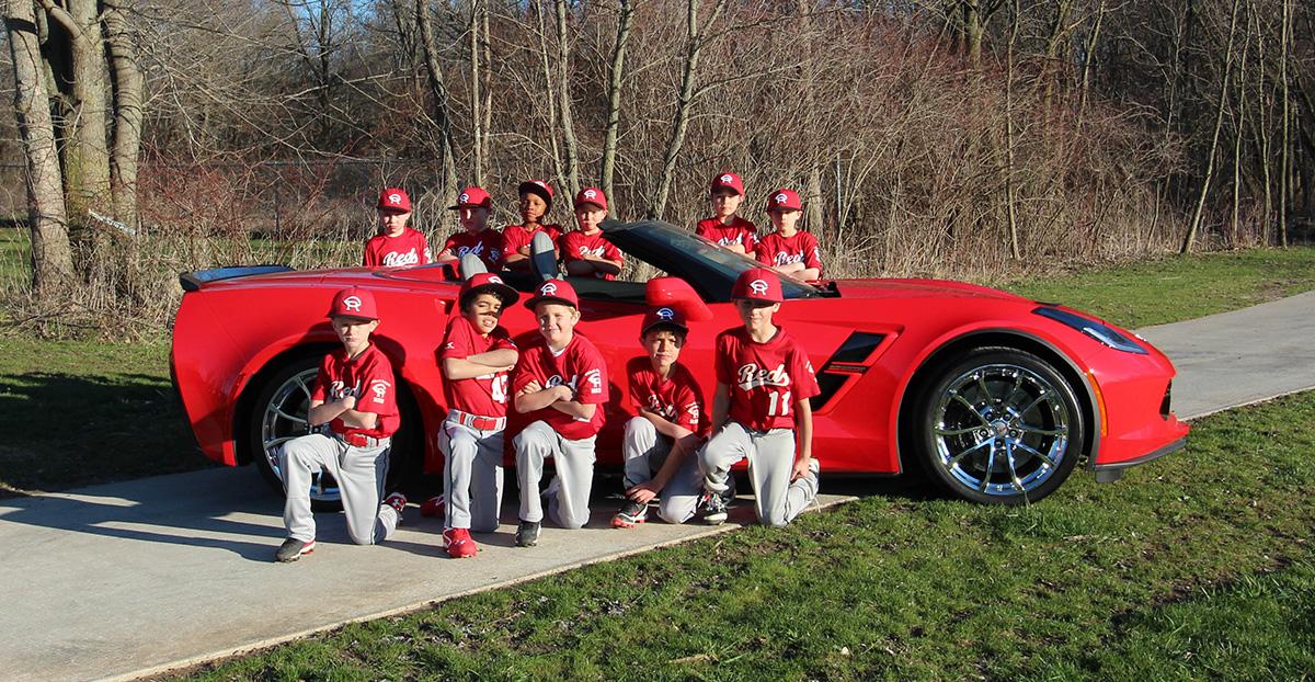 pat mcgrath chevyland supports local cedar rapids reds 8u baseball team mcgrath auto blog. Black Bedroom Furniture Sets. Home Design Ideas