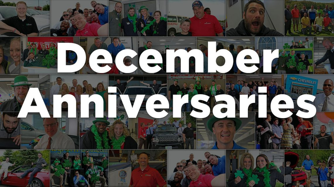 December Anniversaries