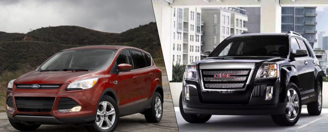 2014 Ford Escape vs GMC Terrain