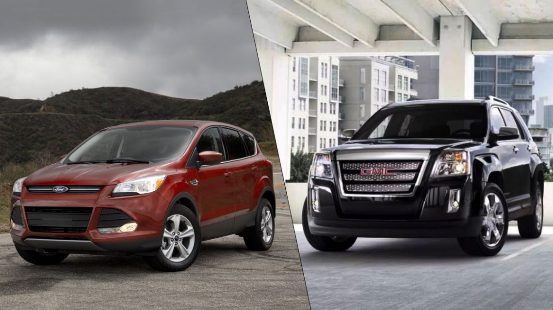2014 Ford Escape vs GMC Terrain