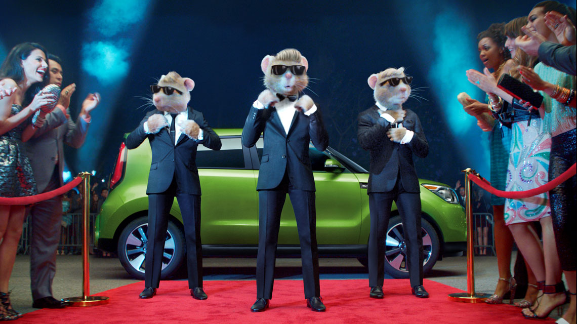 Kia Hamsters On The Red Carpet