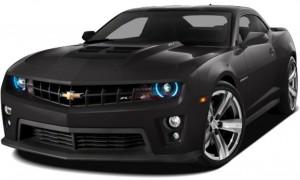 2013 Black Chevy Camaro
