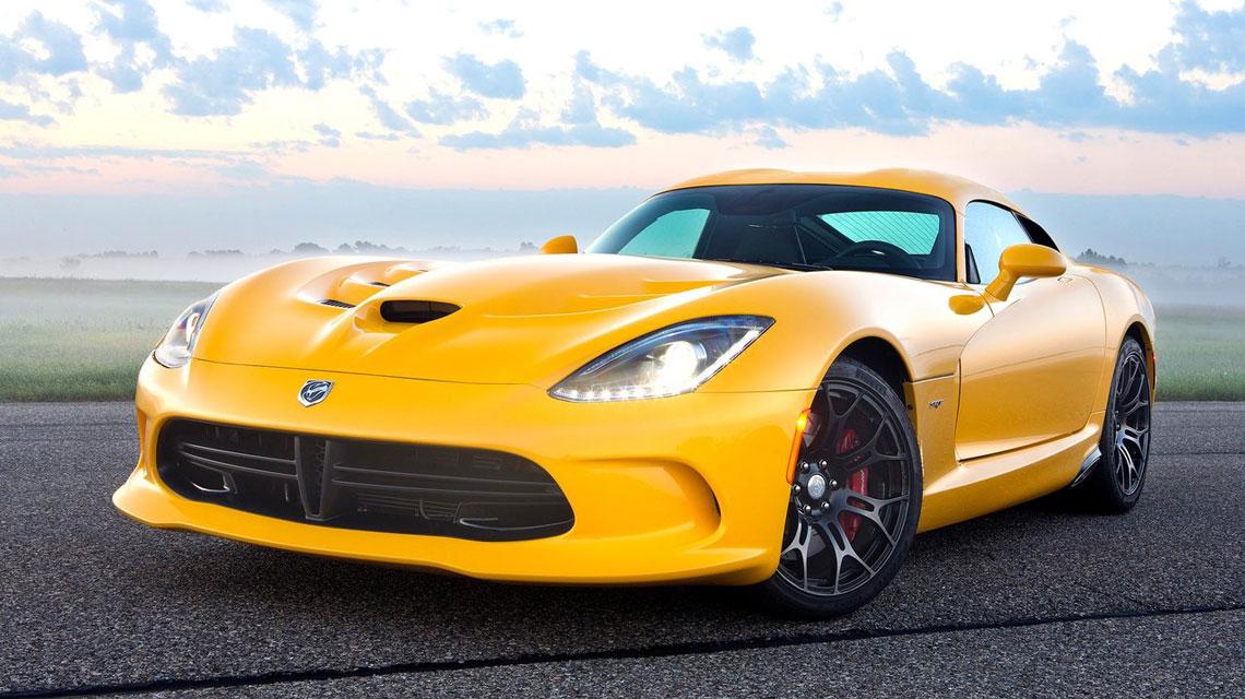 Yellow SRT Viper