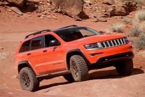 Jeep Wrangler Trailhawk in the desert