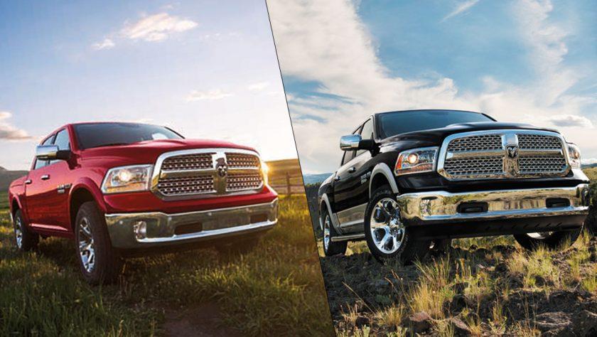 Ram 1500 SLT vs Laramie