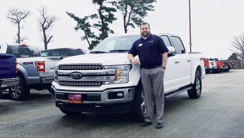 McGrath Fordtown Welcomes Jared Vaske!