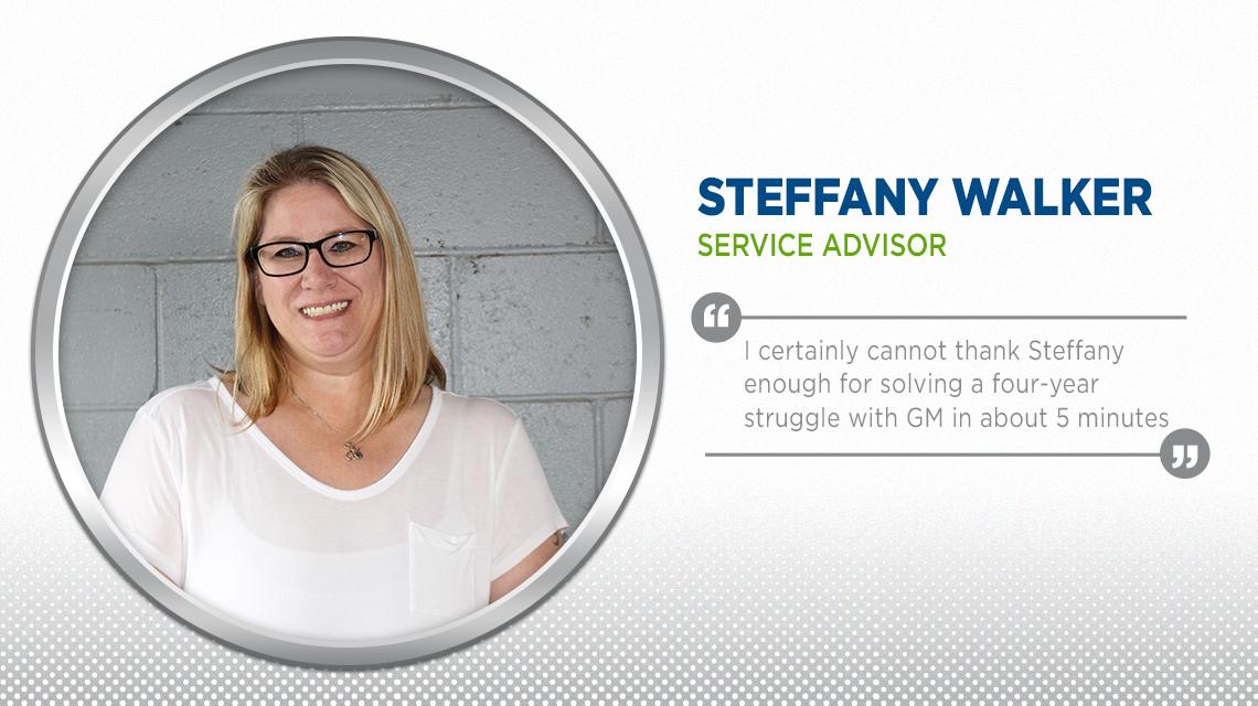 Steffany Service Advisor