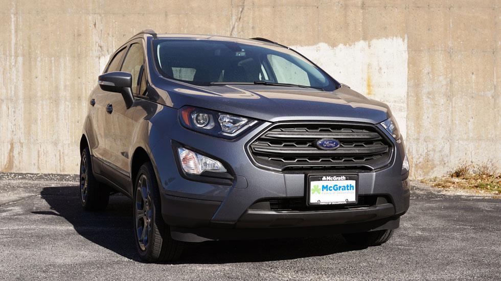 Gray 2019 Ford EcoSport Exterior