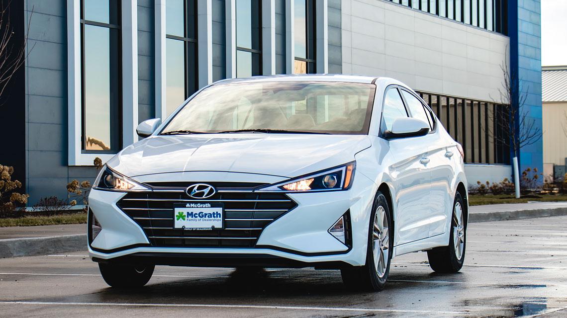 White 2019 Hyundai Elantra in Cedar Rapids