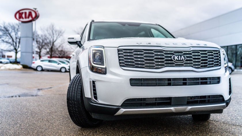 White 2020 Kia Telluride at McGrath Kia