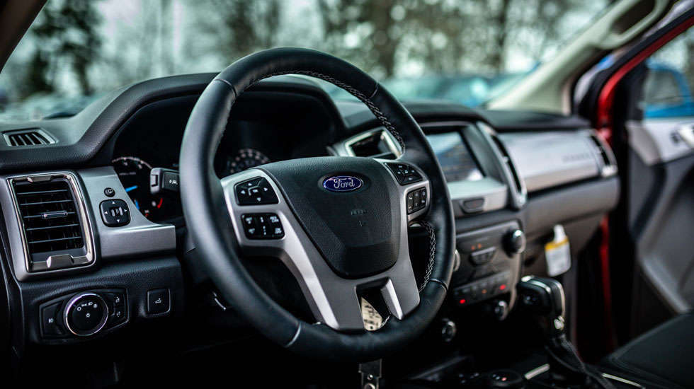 Inside the Ford Ranger