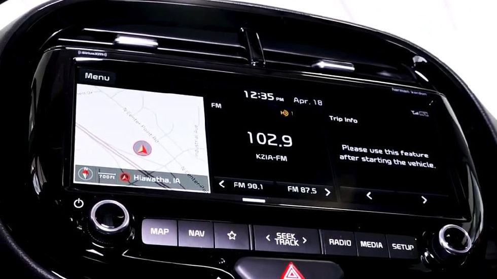 2020 Kia Soul Touchscreen