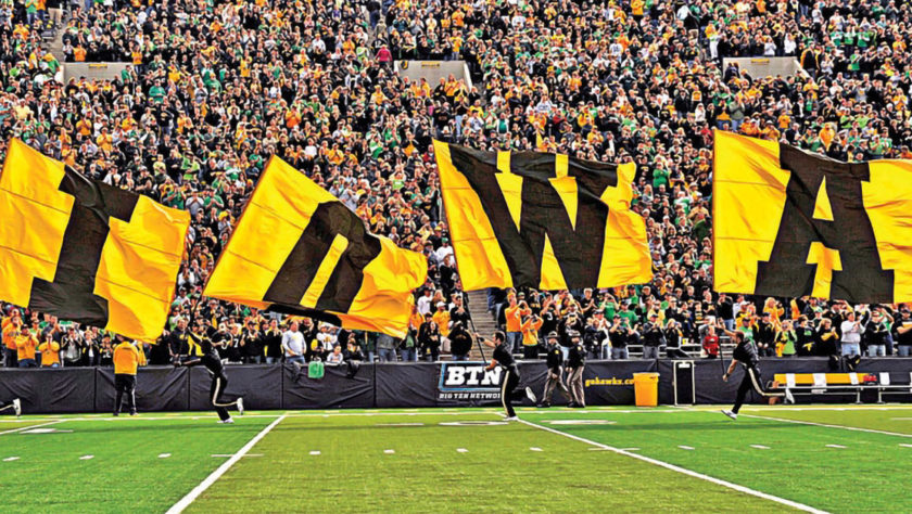Iowa Hawks Flags