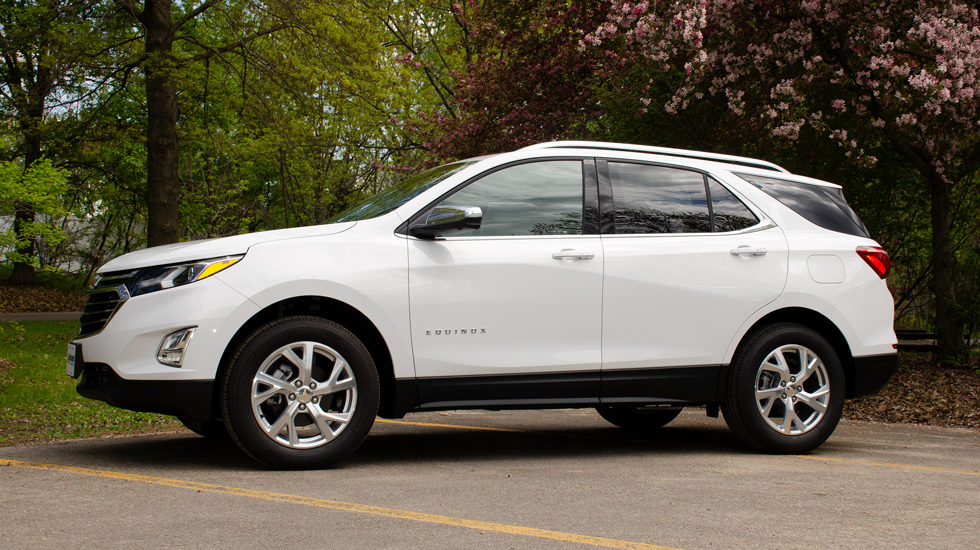 2019 Chevy Equinox compact SUV size