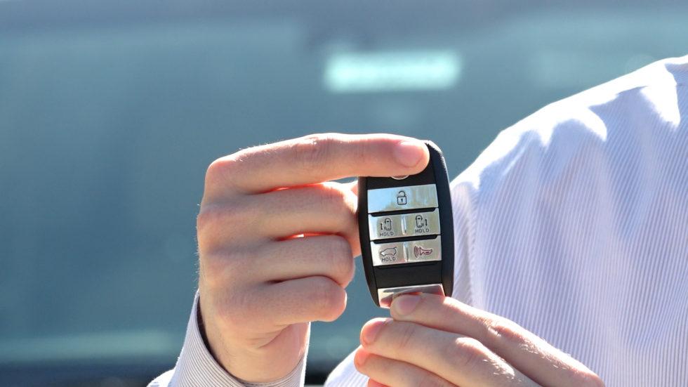 Kia KeyFob Lock Button