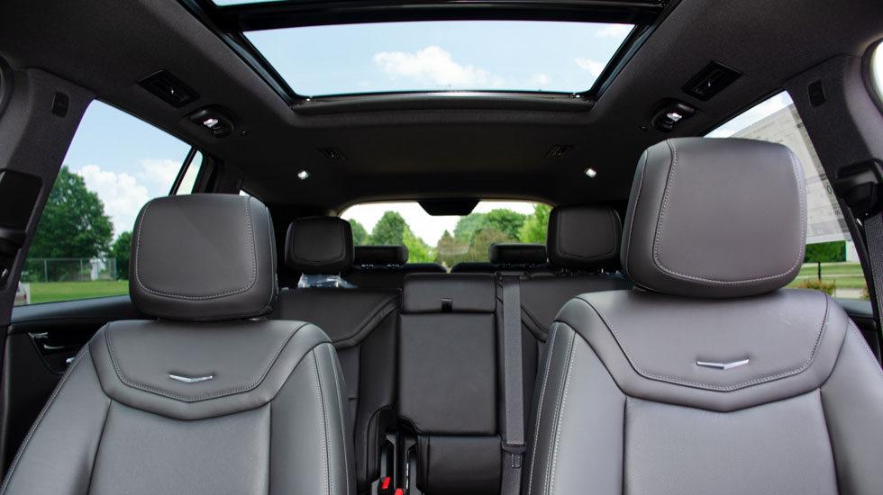 Third row 2020 Cadillac XT6