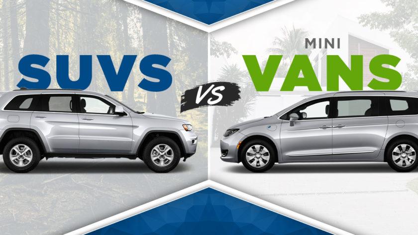 SUV vs Van