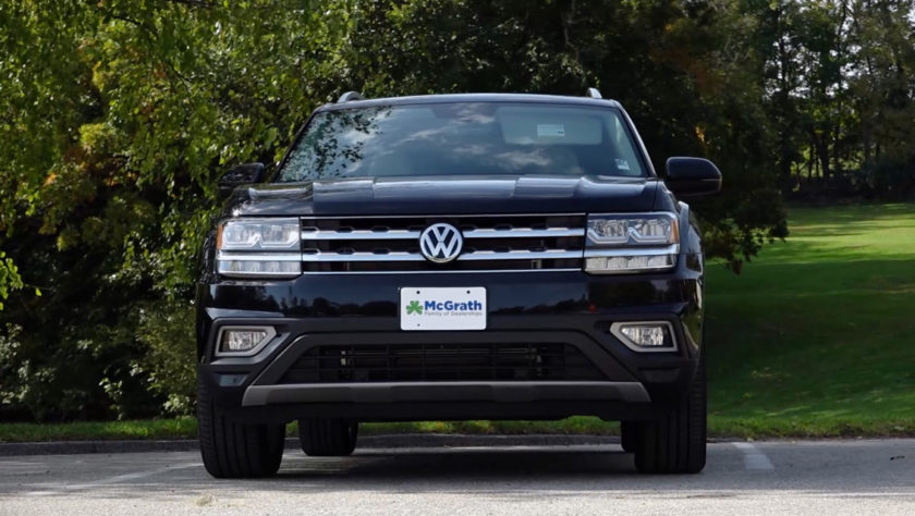 2019 black Volkswagen Atlas