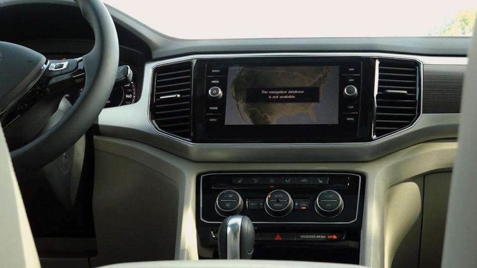 2019 Volkswagen Atlas Infotainment Display