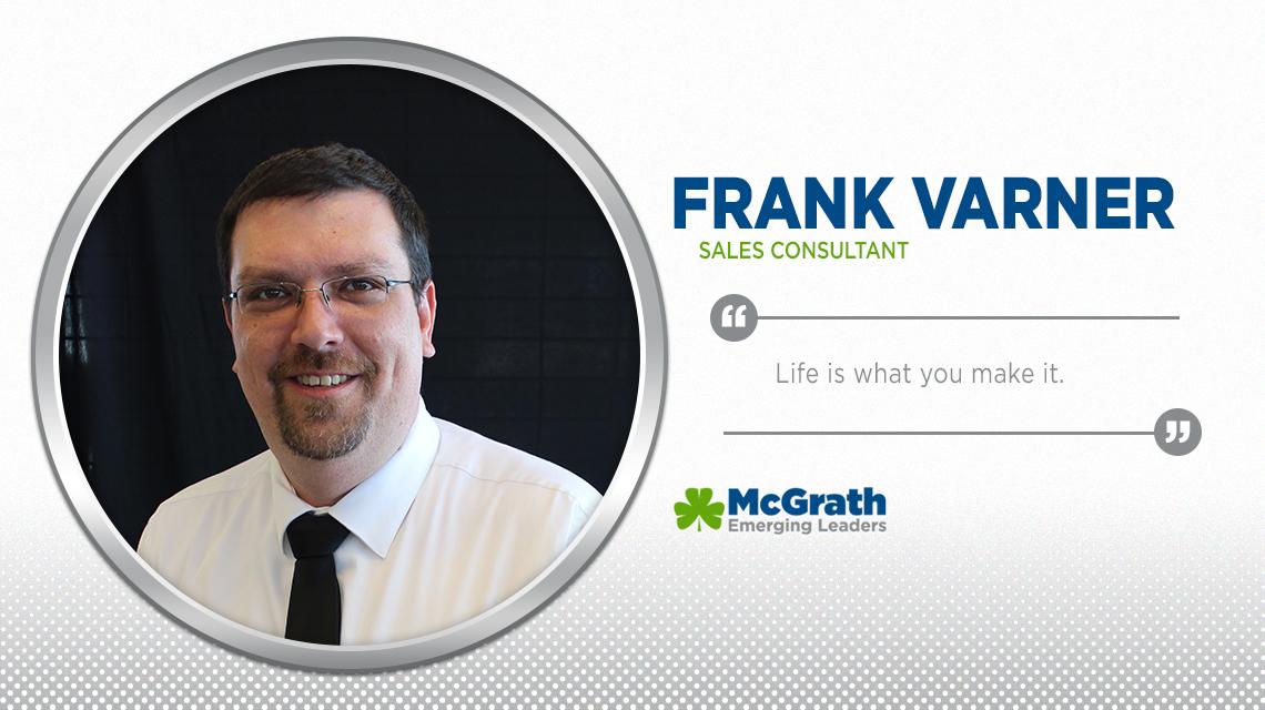 Mcgrath Cedar Rapids >> Meet Emerging Leader Frank Varner - McGrath Auto Blog