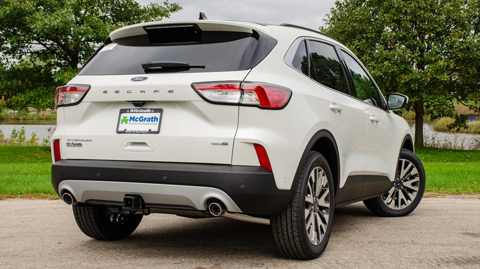 Rear redesign of the 2020 Escape