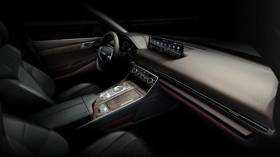 2021 Genesis GV80 Wood interior