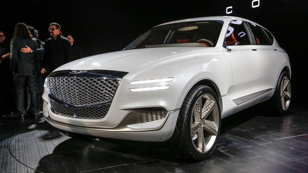 2021 Genesis GV80 Design