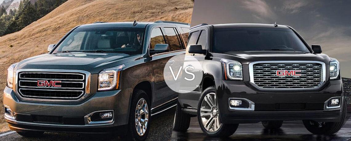 GMC Yukon VS Denali