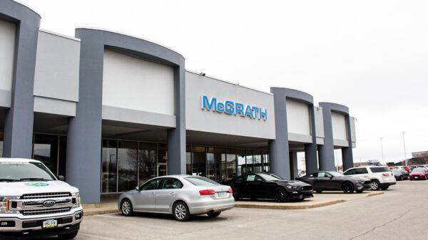 New McGrath Ford Hyundai Genesis building