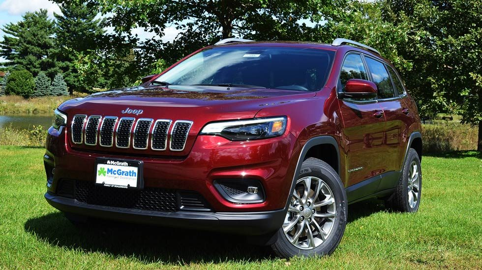2020 Red Jeep Cherokee