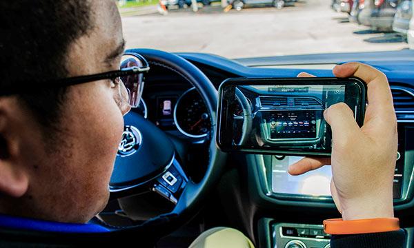 Video car tour