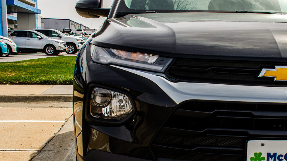 2021 Chevy Trailblazer headlight