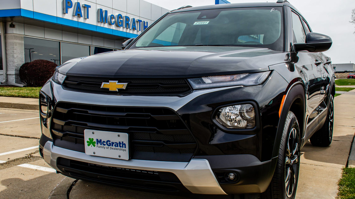 2021 Chevy Trailblazer at Pat McGrath Chevyland