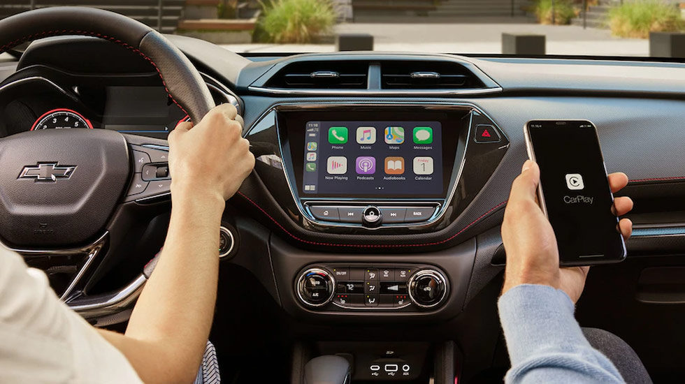 Carplay in the 2021 Trailblazer
