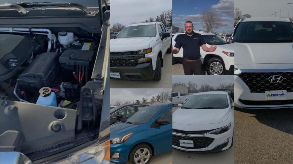 Video car walkaround tours