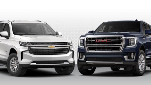 2021 GM SUVs