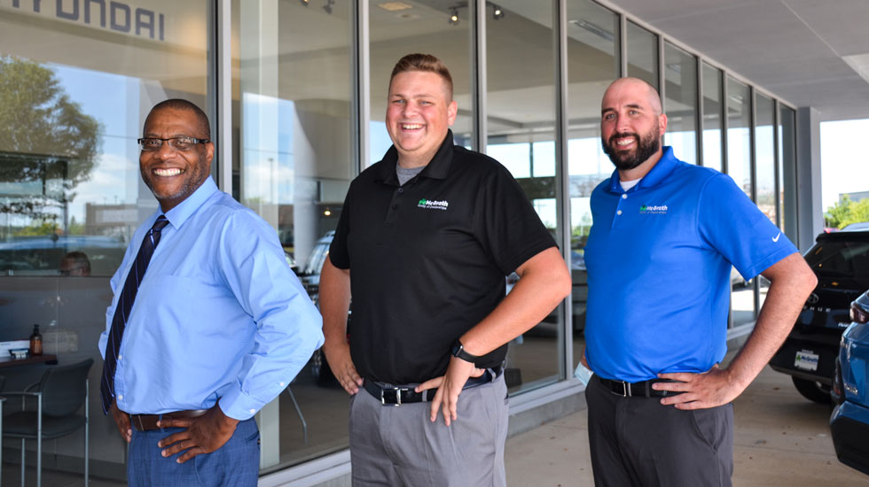 McGrath Ford team