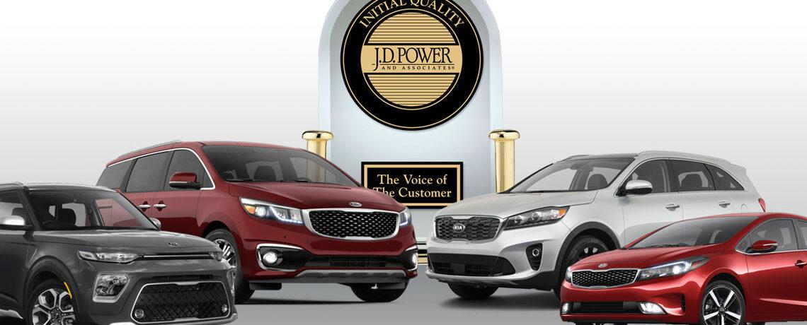 JD Power Awards Kia