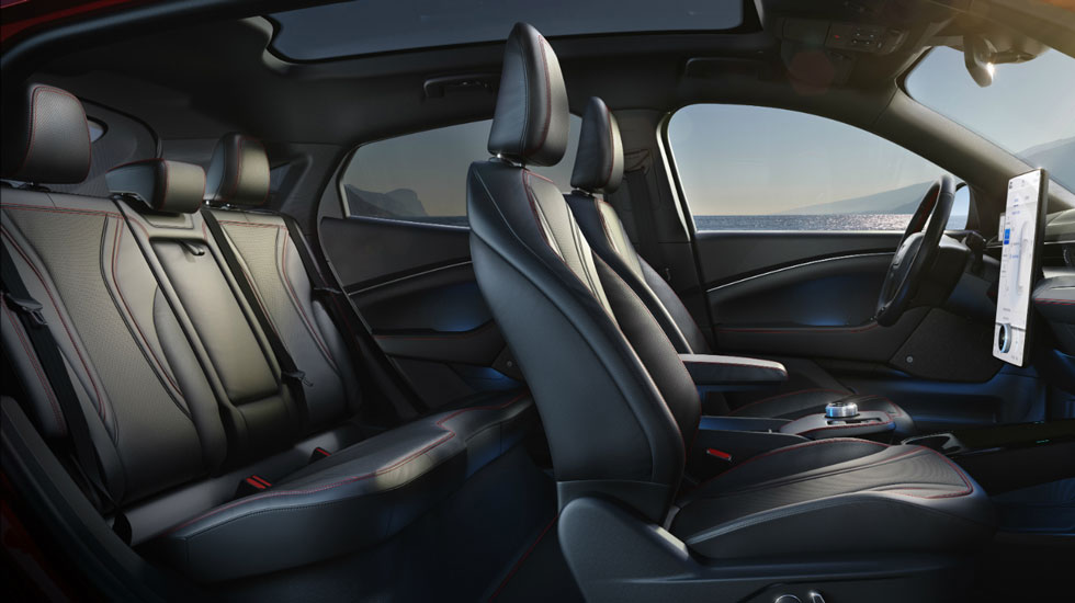 Interior Seating in the Mustang Mach-E