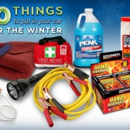 10 Things to Have in Your Car for Winter Driving
