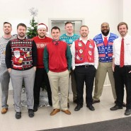 McGrath Celebrates the Holidays with Ugly Sweaters