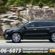 All New 2013 Chevrolet Traverse Marches into Cedar Rapids