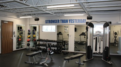 McGrath Supports Exercise and Healthy Living at the Body Shop Fitness Center