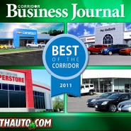 Corridor Business Journal Awards McGrath Auto Best Dealer of 2011
