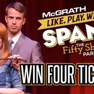 Fifty Shades Parody SPANK! Coming to Paramount in Cedar Rapids!