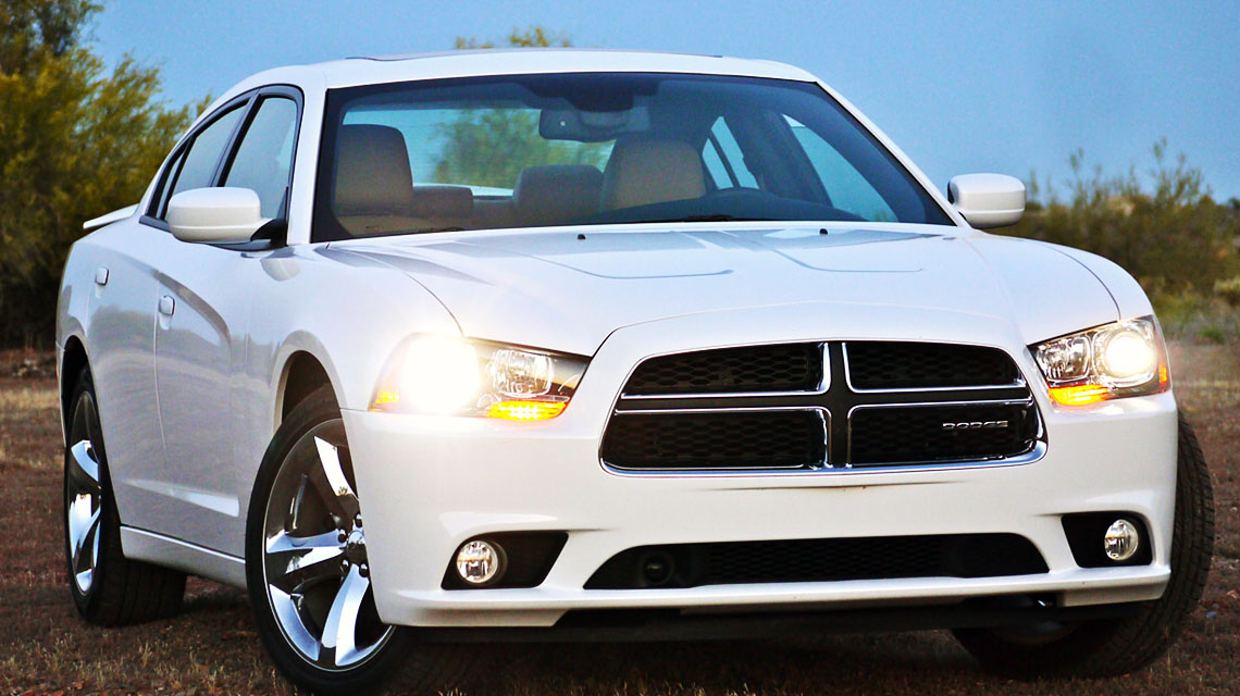 2011 White Dodge Charger