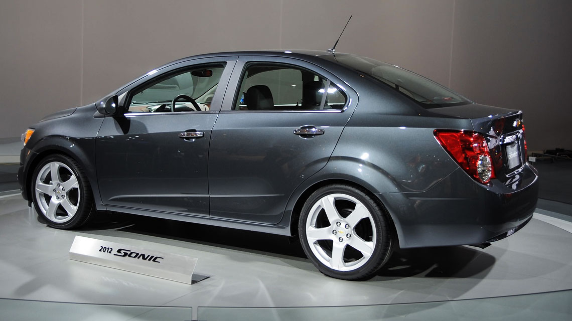 General Motors Unveils Chevy Sonic At 2011 Detroit Auto Show