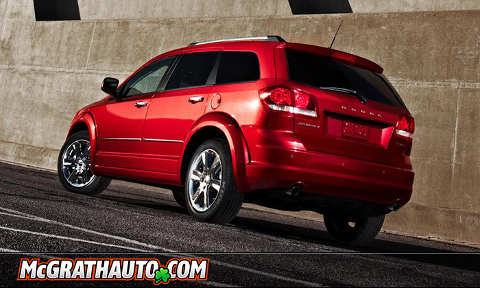 2011 Dodge Journey Rear Corner