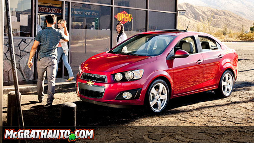 Chevy Sonic Sedan Cedar Rapids