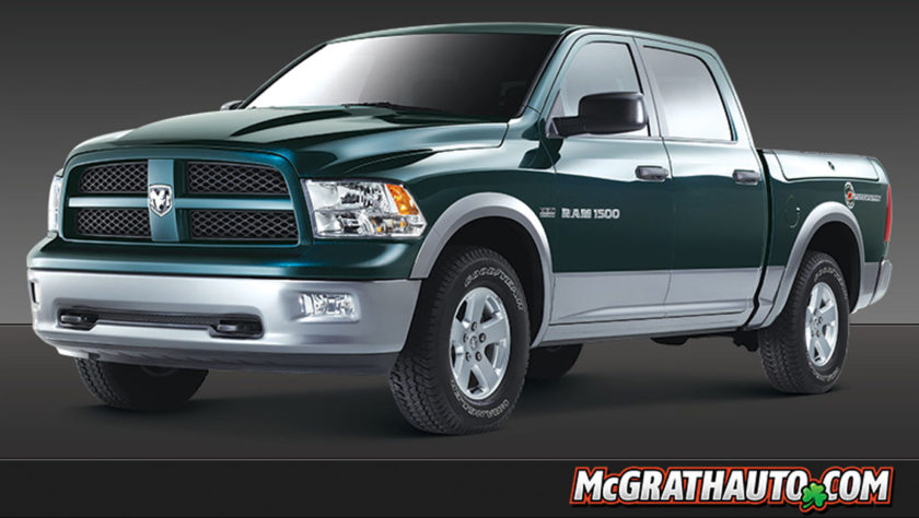 2012 Ram 1500 Outdoorsman Truck Profile